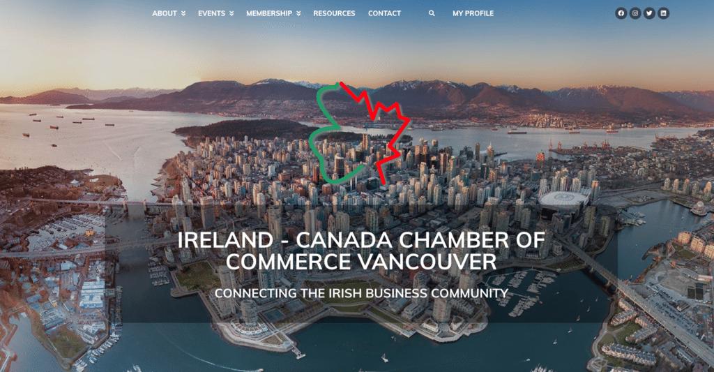 ICCCVan Website - Networking Vancouver